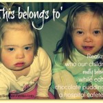 'This belongs to' … realizing who our special needs kids really belong to in a hospital cafeteria