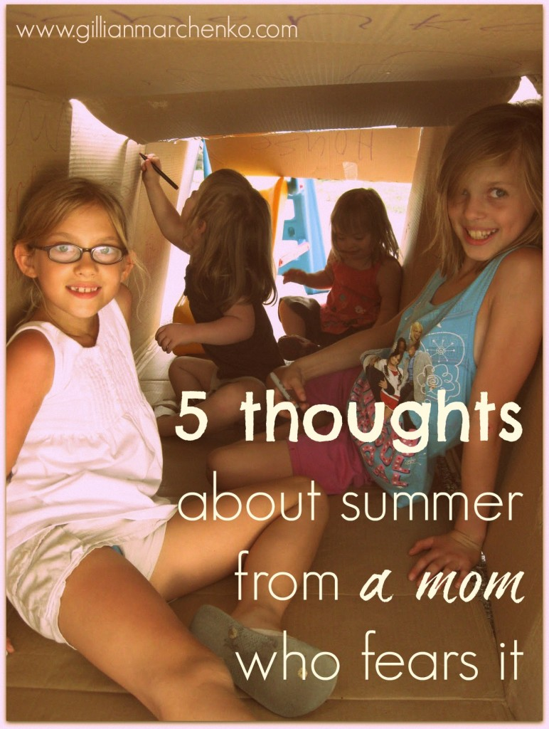 5 thoughts about summer